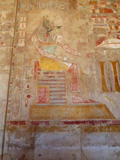 171. Templo de Hatshepsup. Capillas de Anubis