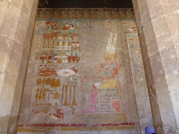 175. Templo de Hatshepsup. Capillas de Anubis