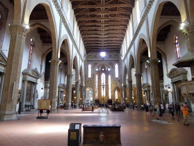 186. Santa Croce. Interior