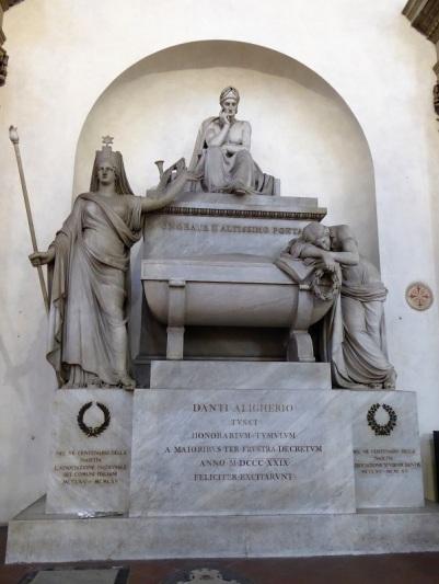 194. Santa Croce. Cenotafio de Dante