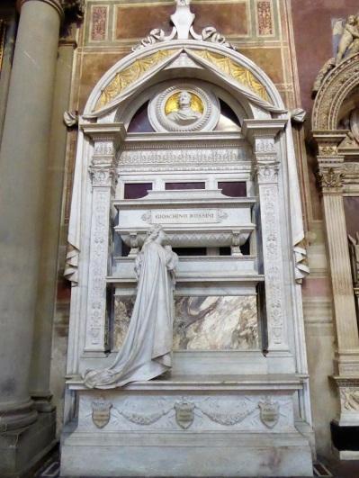 198. Santa Croce. Tumba de Rossini