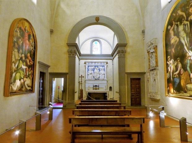 206. Santa Croce. Capilla Medici. Obra de Michelozzo