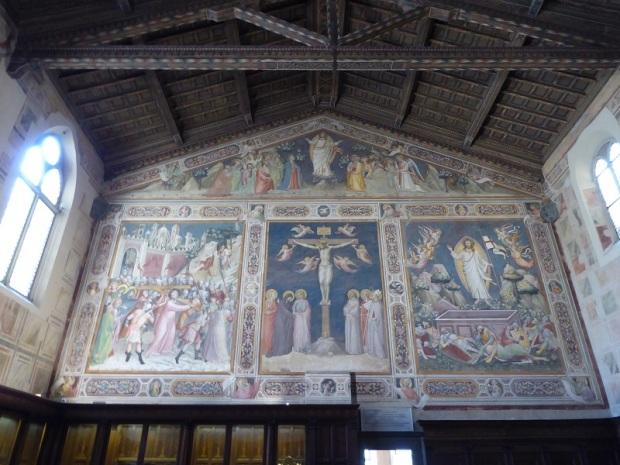 212. Santa Croce. Sacristía. Frescos