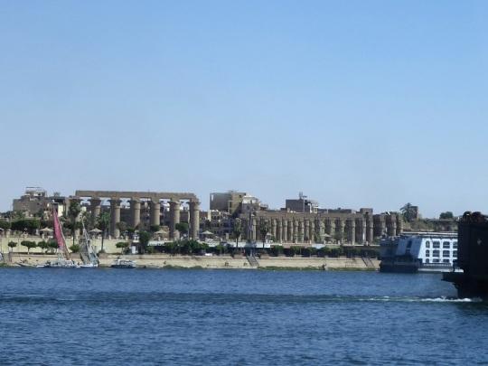 220. Regresando al barco. Templo de Luxor