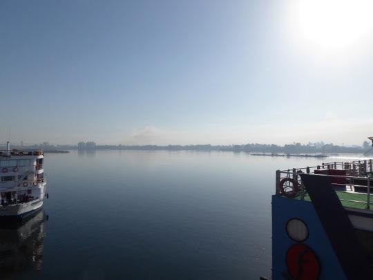 236. Edfu. Amanecer en el Nilo