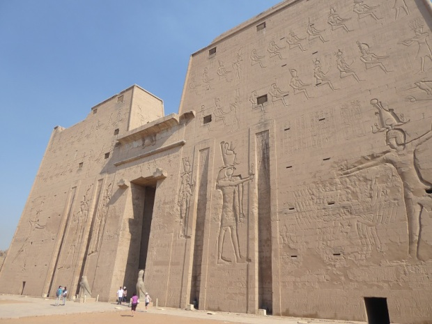 257. Edfu. Templo de Horus