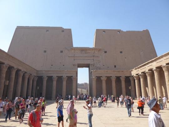 271. Edfu. Templo de Horus