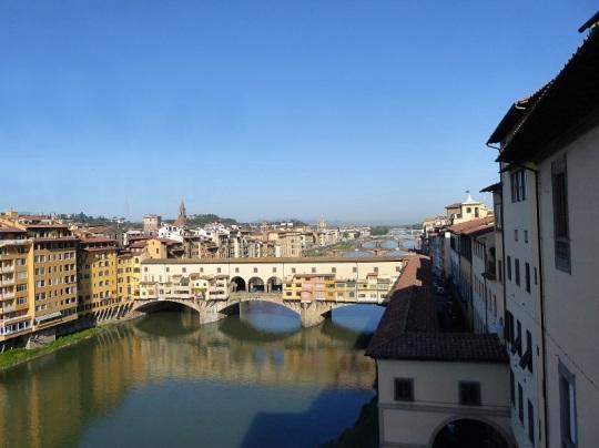 298. Vistas desde los Uffizi