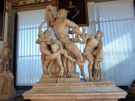 303. Los Uffizi. Copia del Laocoonte del Vaticano