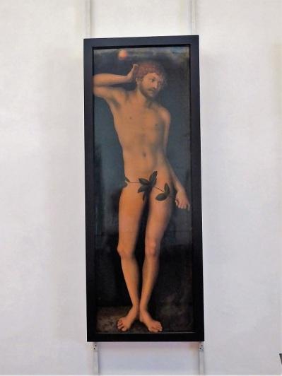 307. Los Uffizi. Adán. Lucas Cranach el Viejo. 1458-1459
