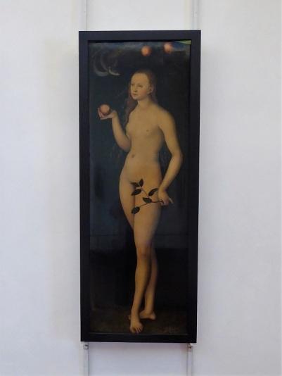 308. Los Uffizi. Eva. Lucas Cranach el Viejo. 1458-1459