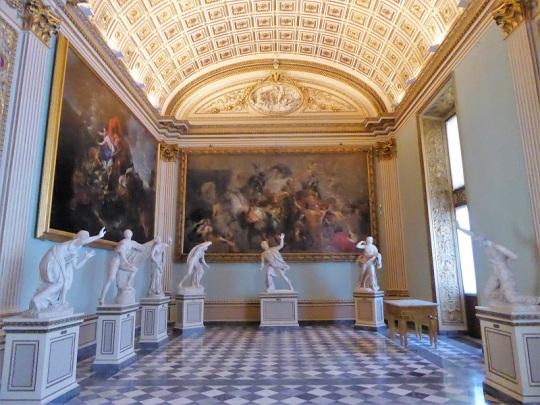 311. Los Uffizi. Sala de Niobe