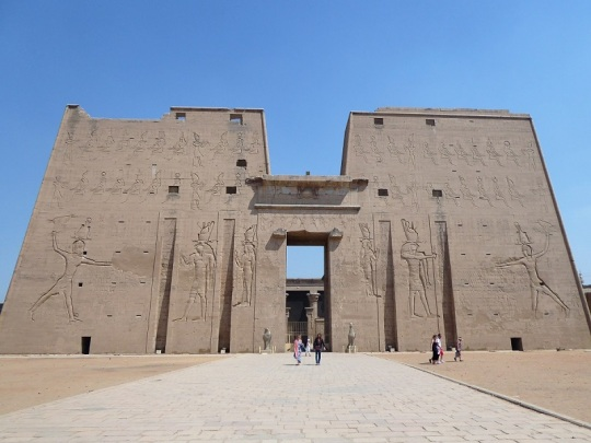 312. Edfu. Templo de Horus