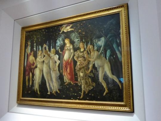 332. Los Uffizi. La Primavera. botticelli