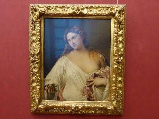 348. Los Uffizi. Flora. Tiziano. 1515-1520
