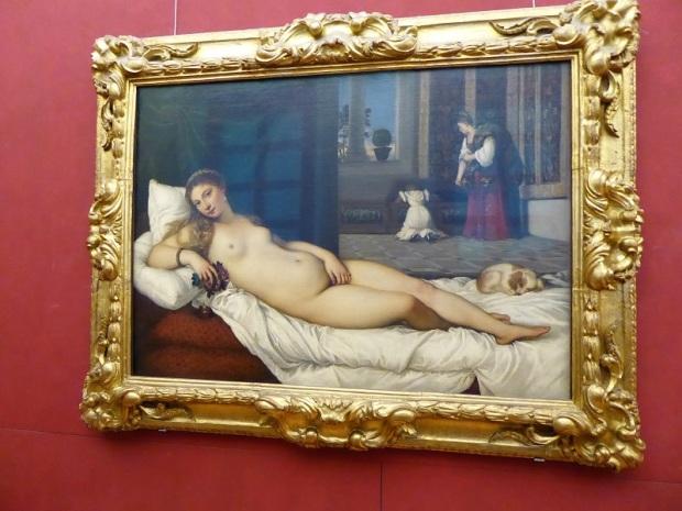 352. Los Uffizi. Venus de Urbino.Tiziano. 1538