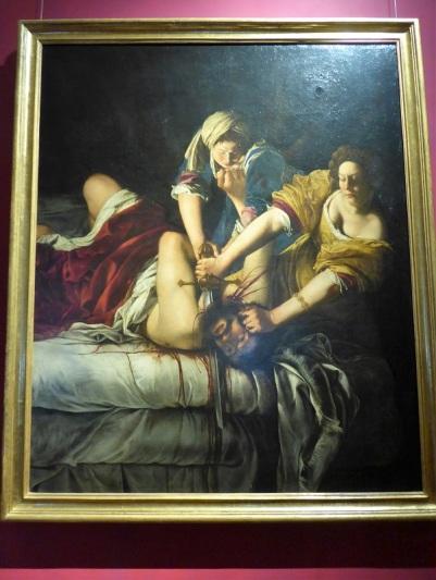 355. Los Uffizi. Artemisa Gentileschi