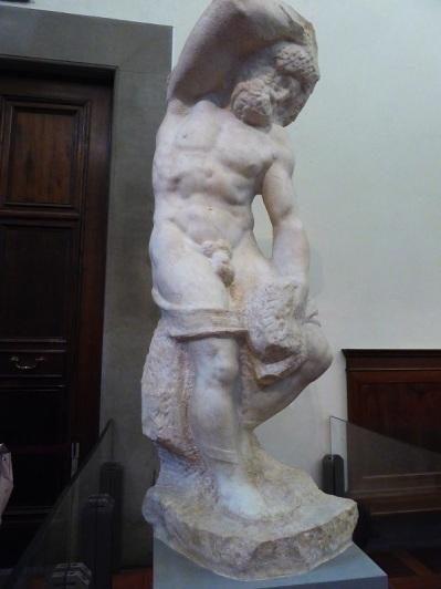 448. Accademia. Uno de los prisioneros de Miguel Ángel 1