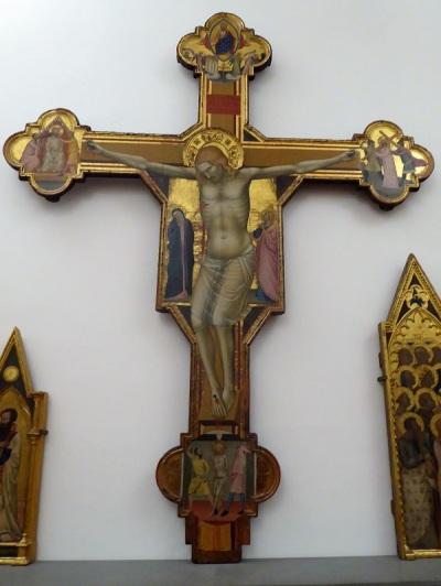 454. Accademia. Crucifijo. Bernardo Daddi. Mediados del XIV