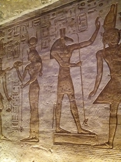 463. Abu Simbel. Templo de Nefertari