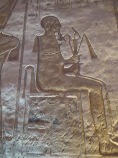 465. Abu Simbel. Templo de Nefertari