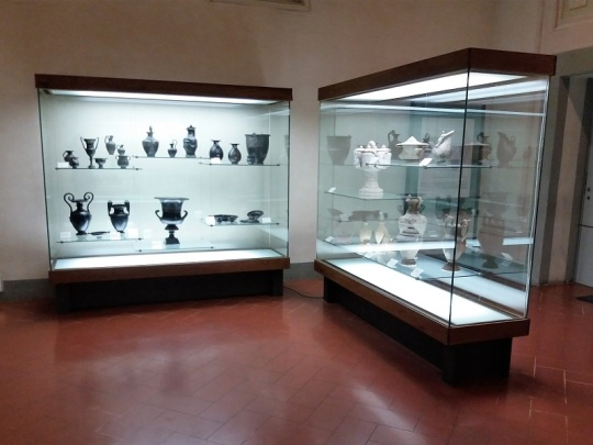 494. Museo arqueológico. Colección cerámica etrusca