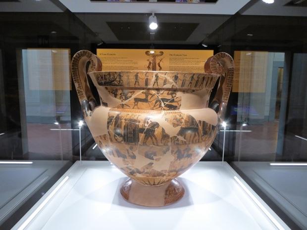 525. Museo arqueológico. Vaso François. 565 a. C.