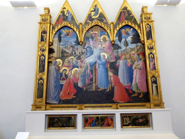 551. Convento de San Marcos. Descendimiento de la Cruz. beato Angélico