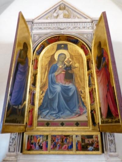 553. Convento de San Marcos. Tabernáculo de los tejedores de lino. Beato Angélico. 1435-1436