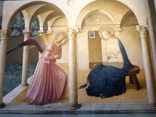 554. Convento de San Marcos. La anunciación. Beeato Angélico