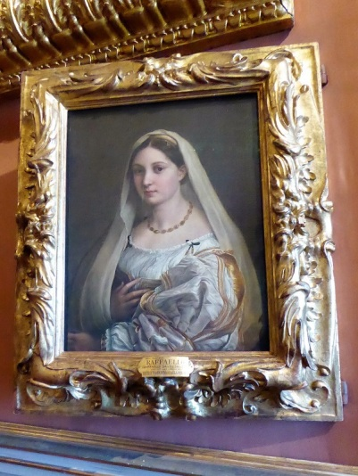654. Palazzo Pitti. Galería Palatina. Retrato de mujer llamada La Velada. Rafael