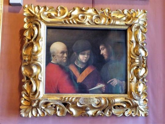 655. Palazzo Pitti. Galería Palatina. Las tres edades del hombre. Giorgione