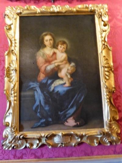 660. Palazzo Pitti. Galería Palatina. Virgen con el Niño. Murillo