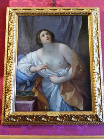664. Palazzo Pitti. Galería Palatina. Cleopatra. Guido Reni