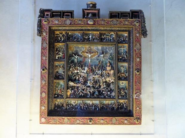 693. Palazzo Pitti. Tesoro de los Medici. Relicario. Taller florentino. 1590-1623