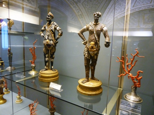 700. Palazzo Pitti. Tesoro de los Medici. Figuras al estilo Archimboldo. Finales del XVII