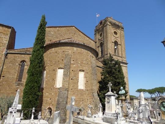 761. San Miniato. Campanario y ábside