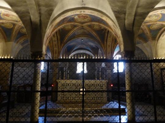 783. San Miniato. Cripta