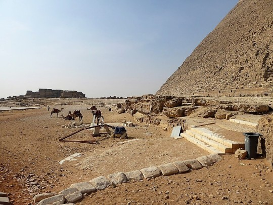 856. Pirámide de Kefrén