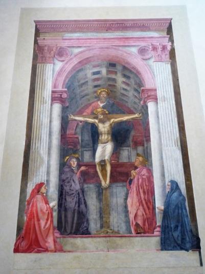 883. Santa María Novella. La Trinidad. 1424-1425