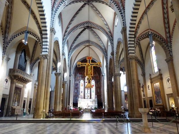 884. Santa María Novella. Interior