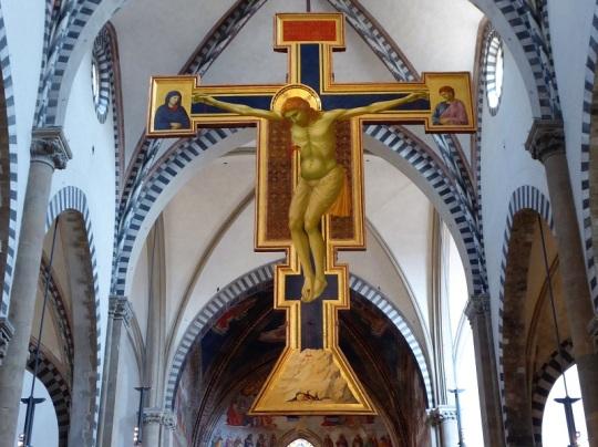 888. Santa María Novella. Crucifijo de Giotto. 1288
