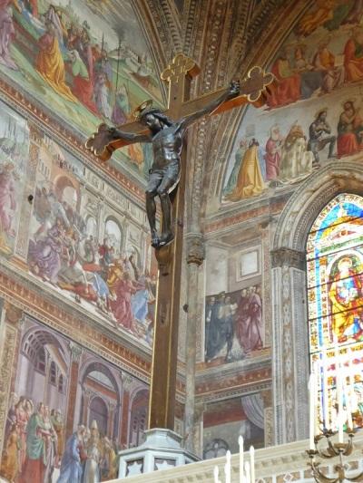 892. Santa María Novella. Presbiterio. Crucifijo de Giambologna. Principios del XVI