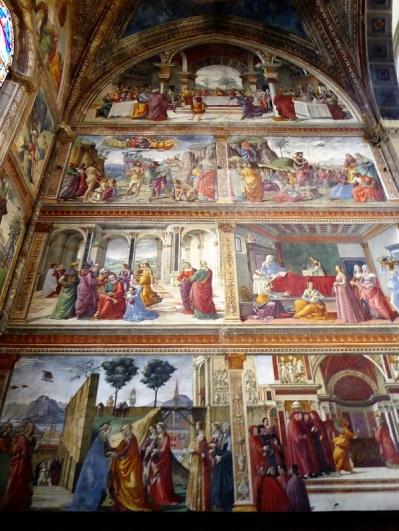 893. Santa Maria Novella. Presbiterio. Frescos