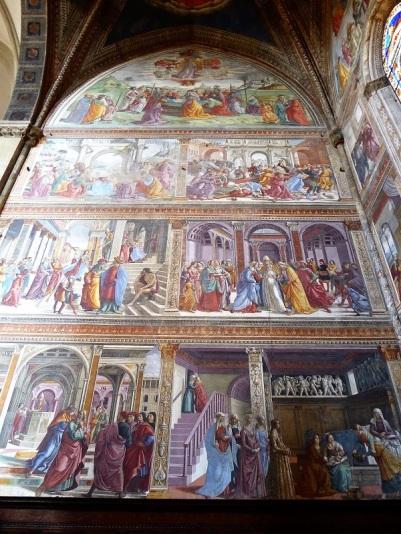 894. Santa Maria Novella. Presbiterio. Frescos