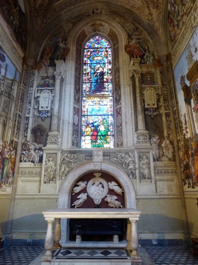 899. Santa Maria Novella. Capilla de Filippo Strozzi