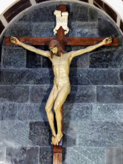904. Santa María Novella. Capilla Gondi. Crucifijo de madera de Brunelleschi