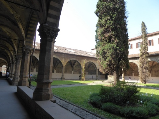 913. Santa María Novella. Claustro Verde