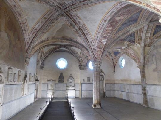917. Santa María Novella. Capillas del claustro de los muertos
