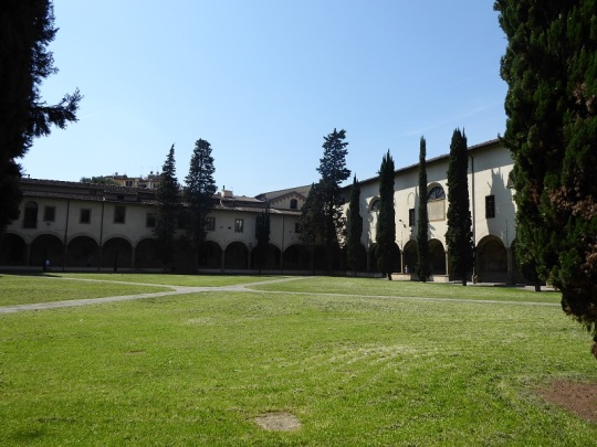 932. Santa María Novella. Claustro grande